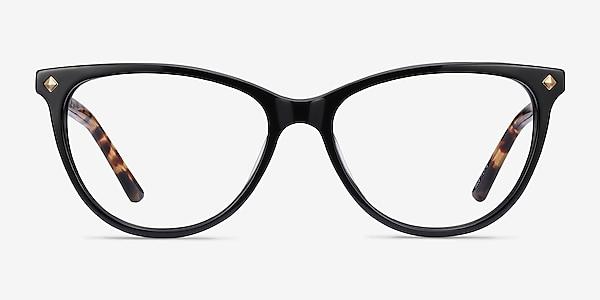 Leonie Black Tortoise Acétate Montures de lunettes de vue
