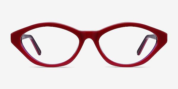 Passion Raspberry & Purple Acétate Montures de lunettes de vue