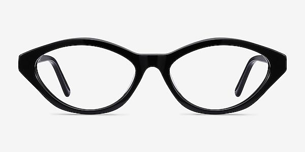 Passion Black Acetate Eyeglass Frames