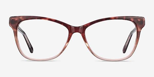 Rosalie Orange Acetate Eyeglass Frames