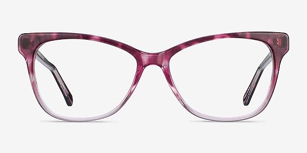 Rosalie Pink Acetate Eyeglass Frames