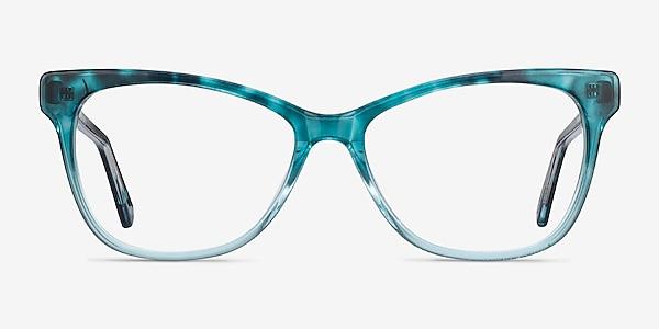 Rosalie Blue Acetate Eyeglass Frames