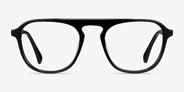 Ida Black Acetate Eyeglass Frames