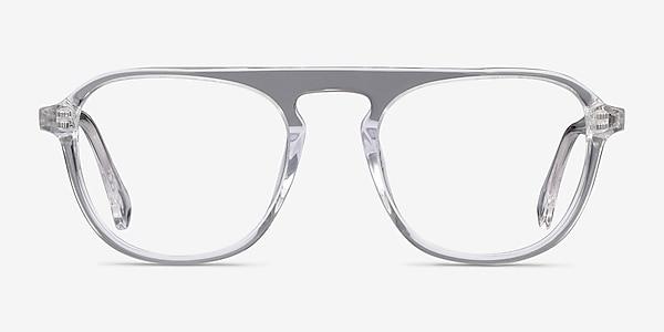 Ida Clear Acetate Eyeglass Frames