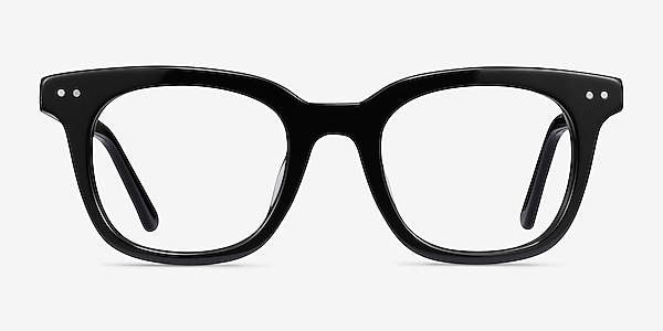 Romy Black Acetate Eyeglass Frames