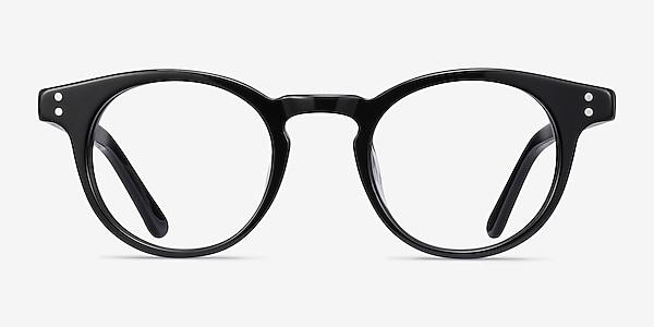 Flora Black Acetate Eyeglass Frames