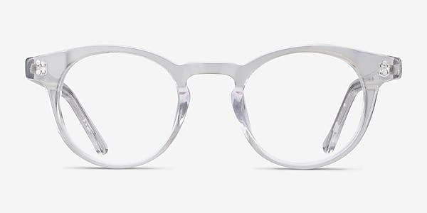 Flora Clear Acetate Eyeglass Frames
