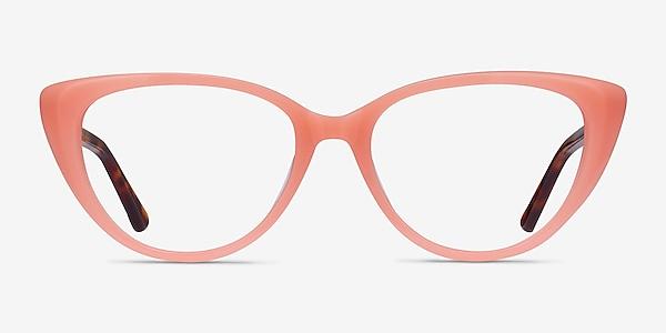 Anastasia Coral & Tortoise Acetate Eyeglass Frames
