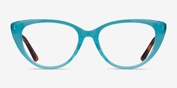 Anastasia Turquoise & Tortoise Acetate Eyeglass Frames