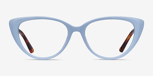 Anastasia Baby Blue & Tortoise Acetate Eyeglass Frames