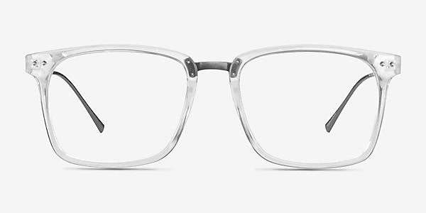 Forte Clear Plastic-metal Eyeglass Frames