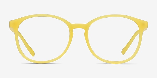 Dutchess Yellow Plastic Eyeglass Frames