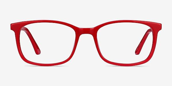 Equality Rouge Acétate Montures de lunettes de vue