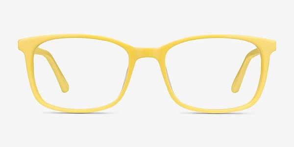 Equality Yellow Acetate Eyeglass Frames