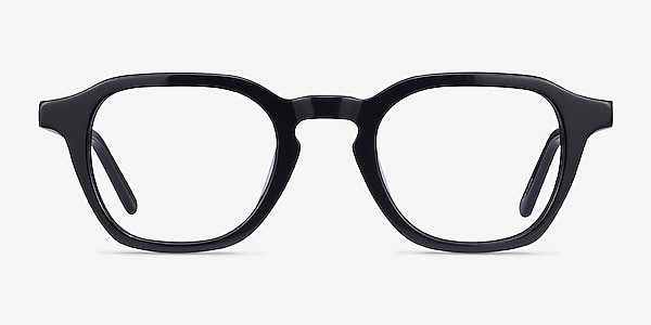 Victor Noir Acétate Montures de lunettes de vue