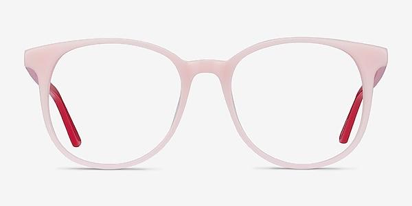 Solveig Pink & Red Acetate Eyeglass Frames