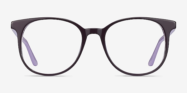 Solveig Purple Acetate Eyeglass Frames