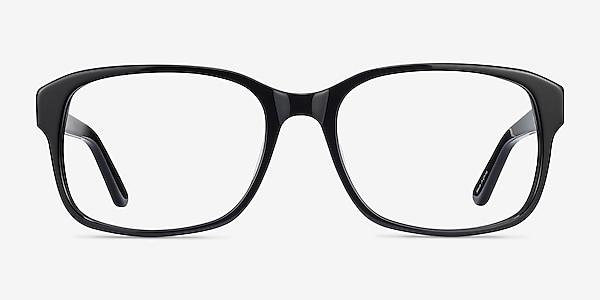 Tobias Black Acetate Eyeglass Frames
