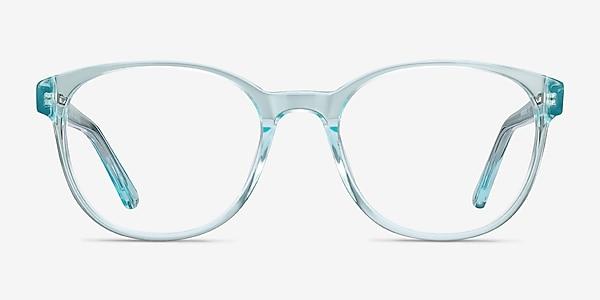 Gable Clear Blue Acétate Montures de lunettes de vue