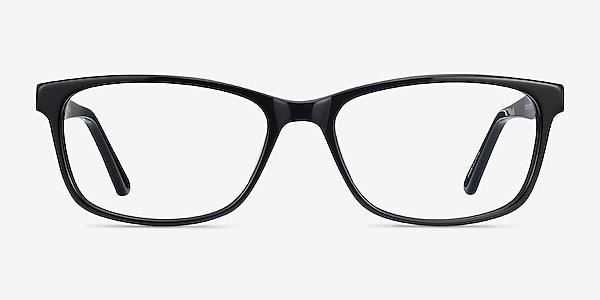 Marion Black Acetate Eyeglass Frames