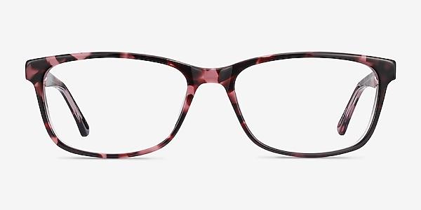 Marion Pink Tortoise Acetate Eyeglass Frames