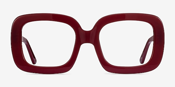 Gloria Burgundy Acetate Eyeglass Frames