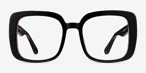 Heather Dark Coffee Acetate Eyeglass Frames