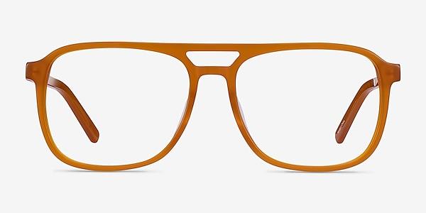 Russell Mellow Yellow Acetate Eyeglass Frames
