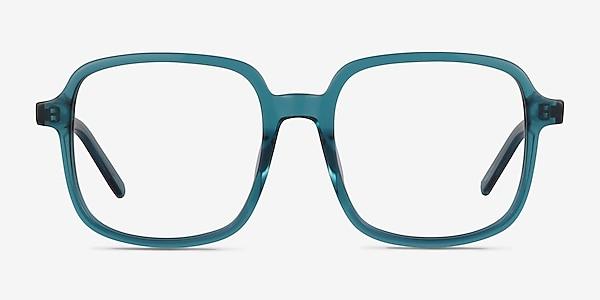 Gaston Teal Acetate Eyeglass Frames