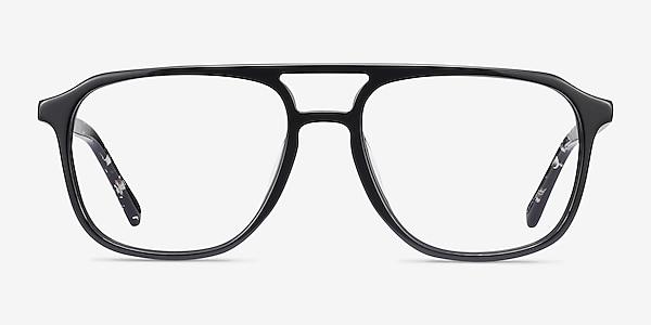 Effect Noir Acétate Montures de lunettes de vue