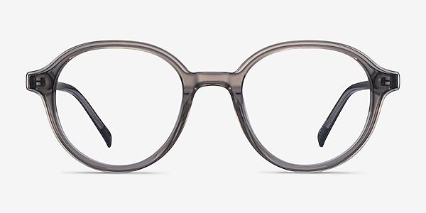Satisfy Clear Gray Acetate Eyeglass Frames