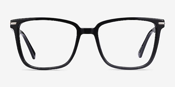 Canvas Noir Acétate Montures de lunettes de vue