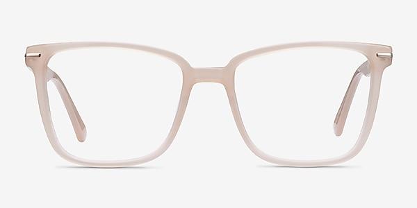 Canvas Beige Acétate Montures de lunettes de vue