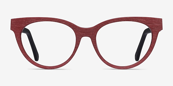 Paula Berry Red Acetate Eyeglass Frames