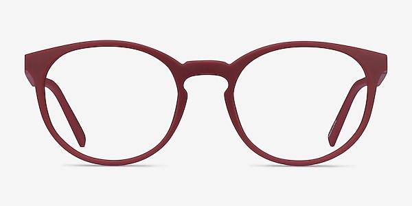 Citrus Crimson Plastique Montures de lunettes de vue