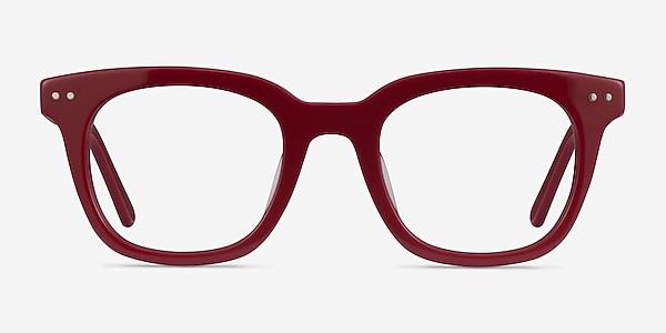 Romy Burgundy Acétate Montures de lunettes de vue