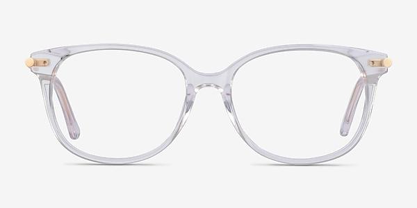 Jasmine Clear Metal Eyeglass Frames
