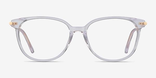 Jasmine Clear Acetate Eyeglass Frames
