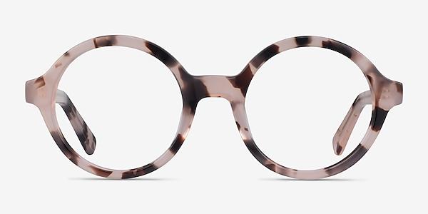 Groove Ivory Tortoise Acétate Montures de lunettes de vue