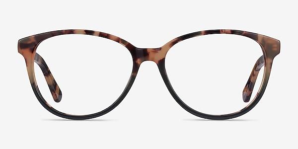 Hepburn Tortoise Green Acétate Montures de lunettes de vue