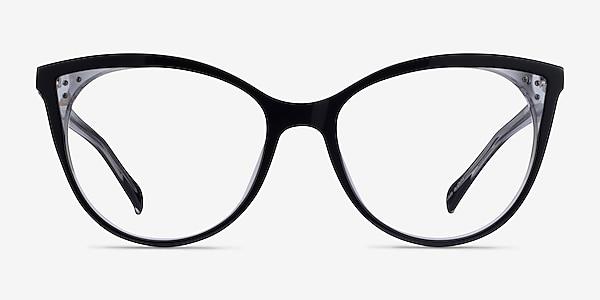 Bijou Black Acetate Eyeglass Frames