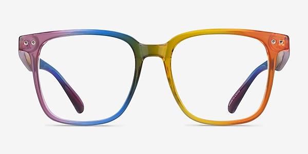 Freedom Rainbow Plastique Montures de lunettes de vue