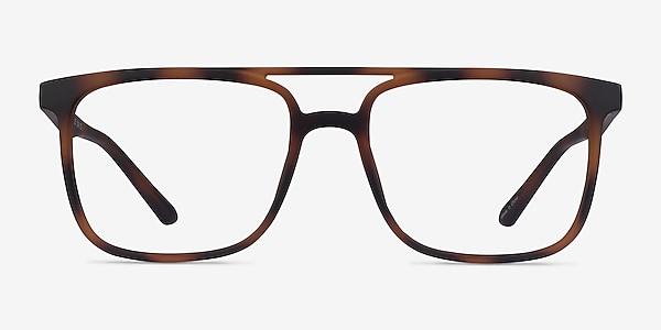 Between Matte Tortoise Plastique Montures de lunettes de vue