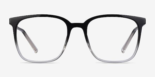 House Gradient Black Plastic Eyeglass Frames