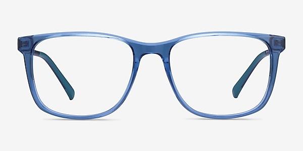 Freeze Clear Blue Plastique Montures de lunettes de vue