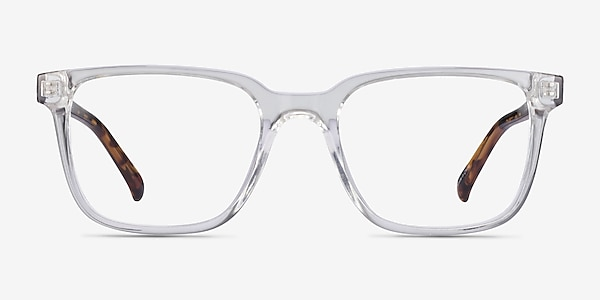 Boat Clear Tortoise Plastic Eyeglass Frames