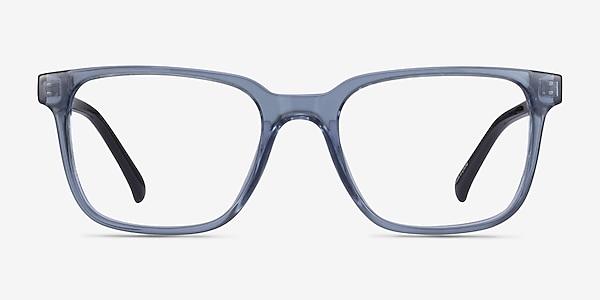 Boat Clear Blue Plastique Montures de lunettes de vue
