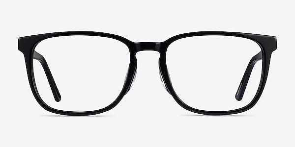 Radio Black Acetate Eyeglass Frames