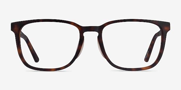 Radio Matte Tortoise Acétate Montures de lunettes de vue