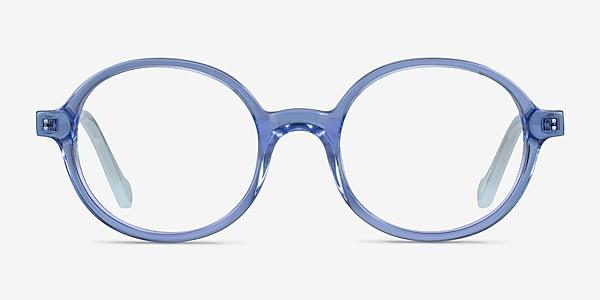 Confetti Clear Blue Acétate Montures de lunettes de vue